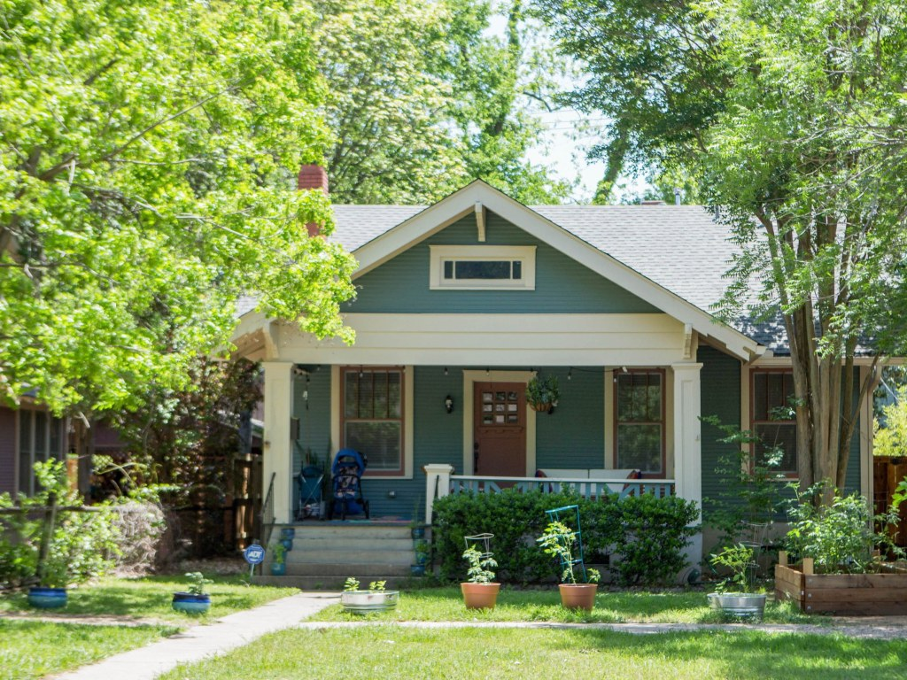Image of home in Hyde Park Austin